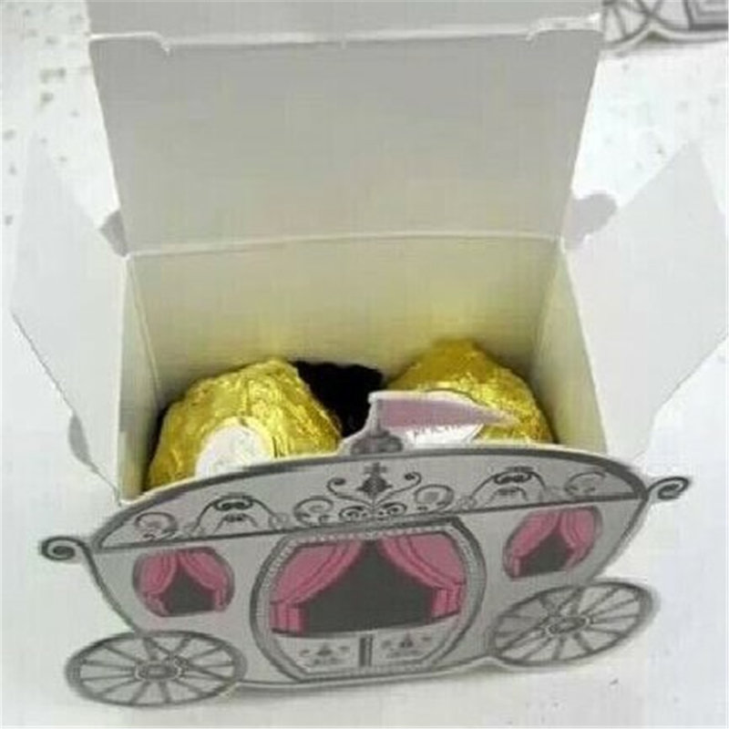 經典幸福馬車喜糖盒 馬車糖果盒 附贈囍糖