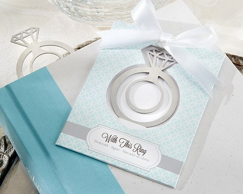 永恆的愛鑽戒書籤禮盒