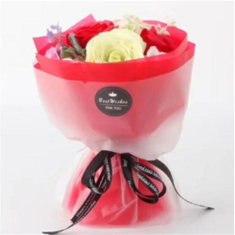 ✿玫瑰香皂花 花束 手拿捧花