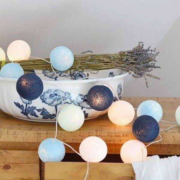 ※泰國棉線球LED 裝飾