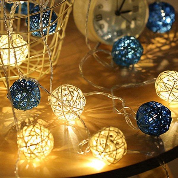 ※泰國藤球燈串 LED 裝飾