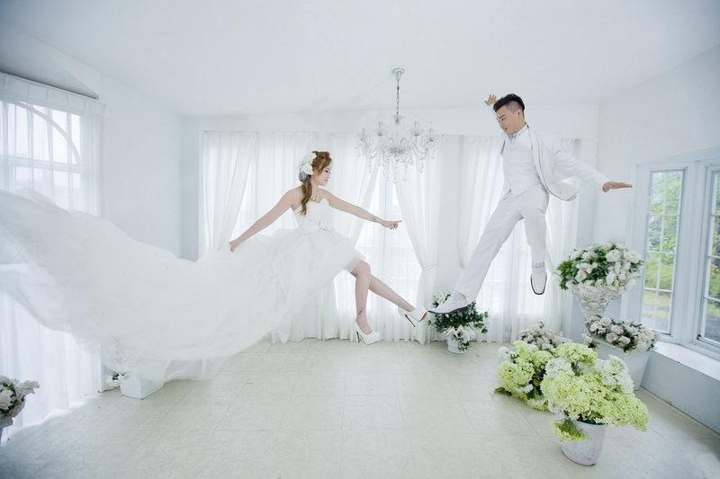 夢幻主題婚禮作品