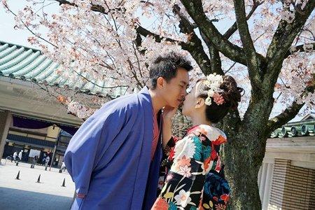 2017/04 日本海外自助婚紗篇~