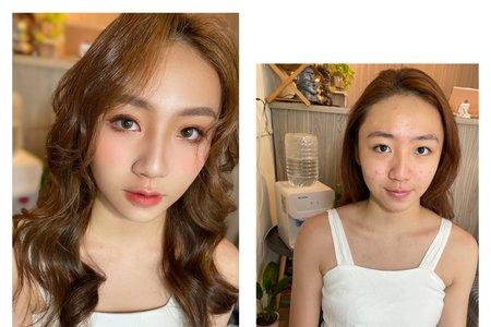 妝前妝後✨自然妝感