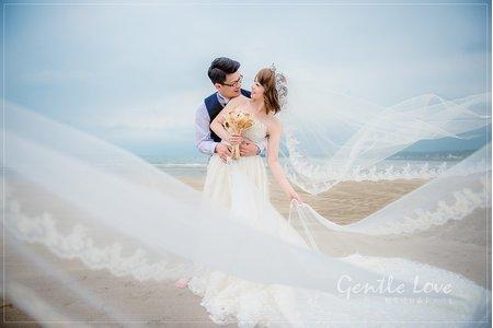 輕愛婚紗攝影工作室北海岸作品