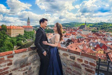 [布拉格PRAGUE婚紗] 布拉格CK小鎮 庫倫洛夫 海外自助婚紗 婚攝小布哥 哈爾斯塔特