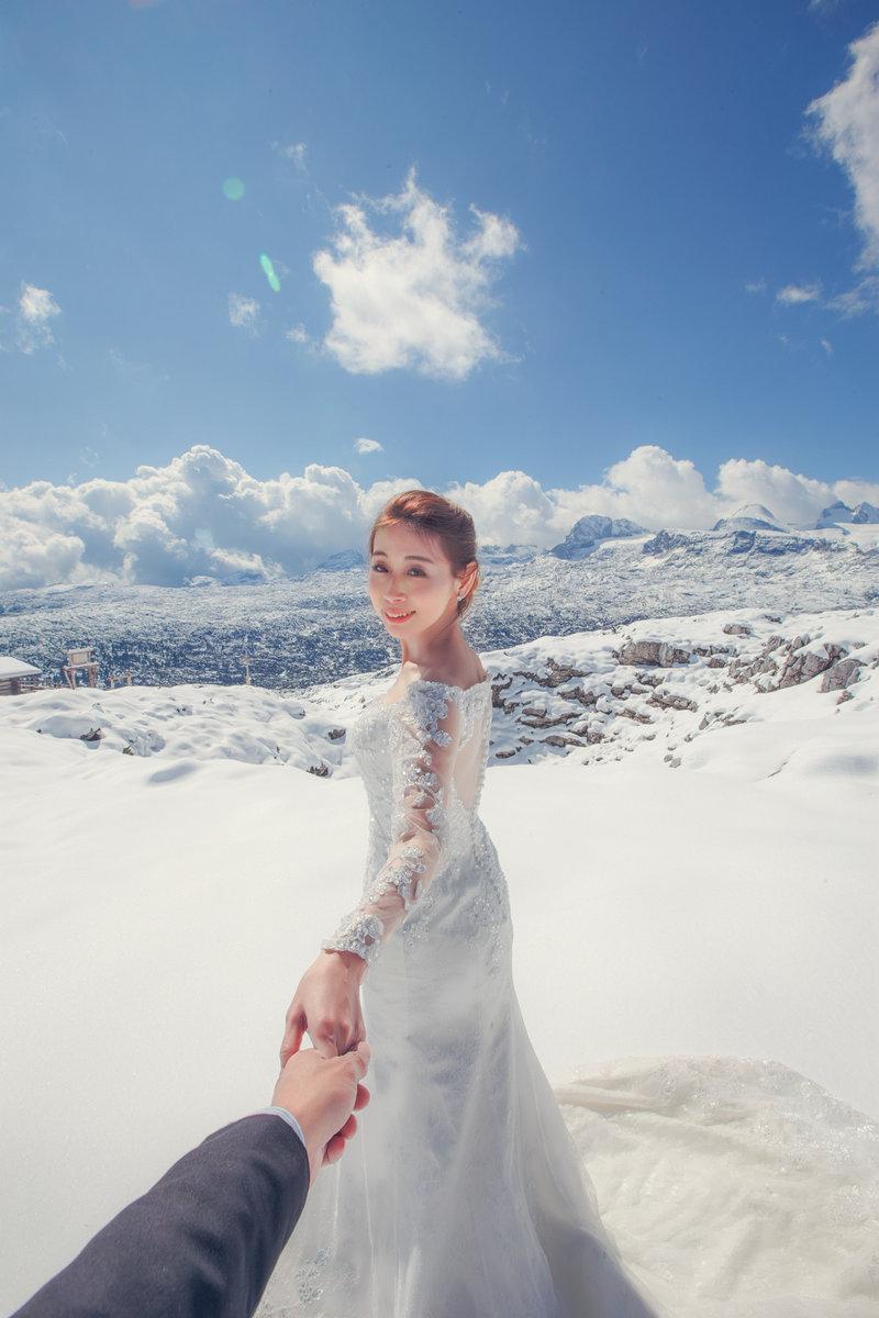2018北海道雪季婚紗$16000專案作品