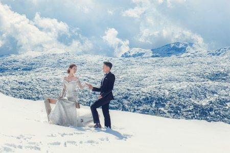 2018北海道雪季婚紗$16000專案
