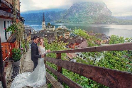 [哈爾施塔特婚紗] Hallstatt 哈修塔特  世界最美的小鎮 奧地利婚紗 海外自助婚紗推薦 布拉格PRAGUE婚紗