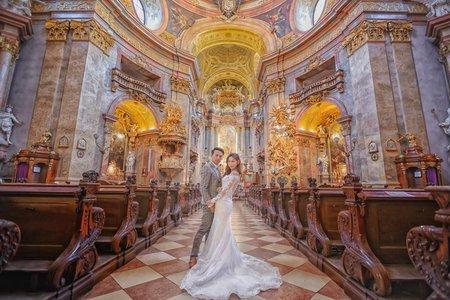 [維也納婚紗] wien Vienna 奧地利 海外婚紗 布拉格PRAGUE婚紗