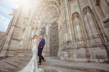 [布拉格婚紗] 瑪朵藝術美學婚紗 哈爾斯塔特.CK小鎮.維也納.法國.維尼斯 有溫度的婚紗