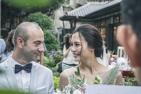 Yen & Andrea wedding party