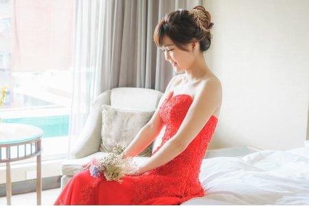 姿穎台北晶華酒店訂婚宴