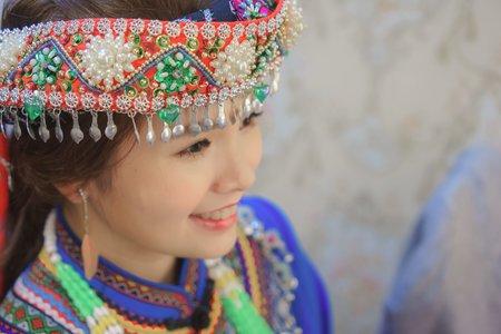 原住民服飾新娘造型