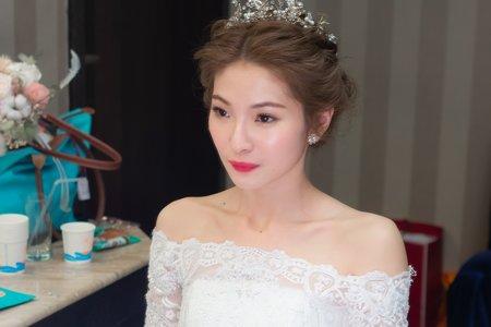 周薇薇新娘秘書 編髮造型 韓風妝髮