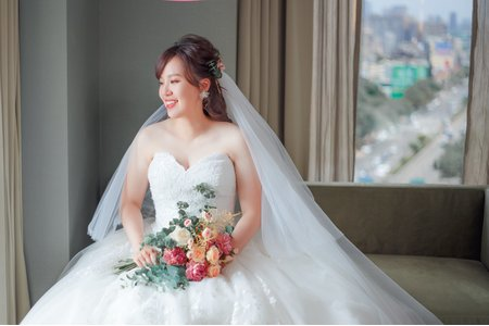 新娘秘書 白紗造型
