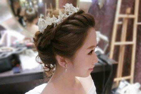 台中新秘婚禮造型側拍紀錄