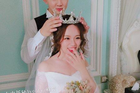 台中新秘Avonlin雅芳婚禮造型紀錄
