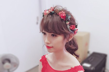 台中新秘Avonlin雅芳婚禮造型作品