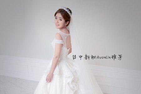 Avonlin雅芳婚禮造型側拍