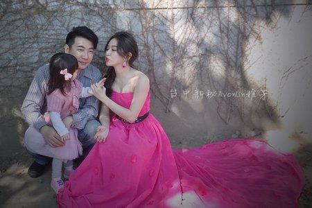 自助婚紗vs婚禮造型-精緻妝髮