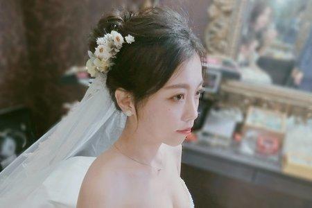 結婚儀式1套禮服單妝髮整體造型