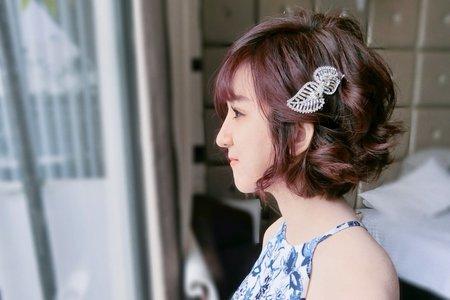 短髮新娘俏麗甜mix時尚個性