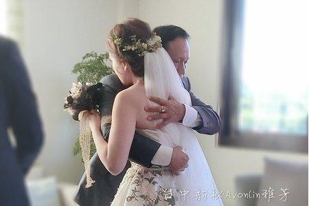 新娘造型婚禮現場側拍