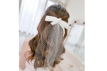 黑髮的慵懶質感&浪漫氣質-人魚公主髮型