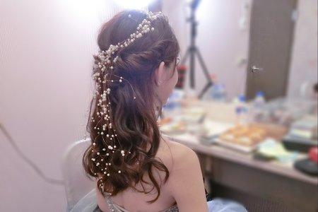 珍珠瀑布公主頭仙氣爆表