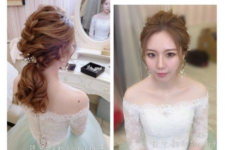 新娘造型-台中新秘Avonlin雅芳婚禮造型設計