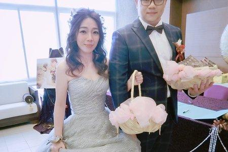 新娘造型-婚禮現場側拍