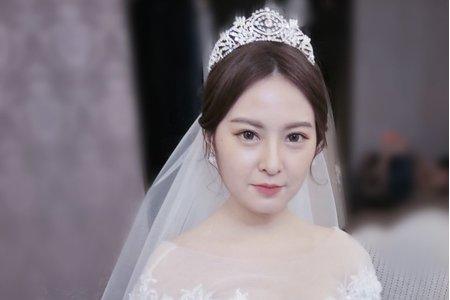 新娘造型-Avonlin雅芳婚禮造型妝髮側拍