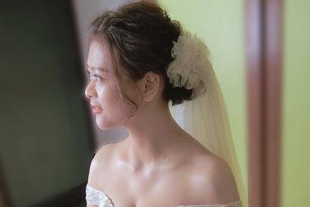 婚禮現場妝髮側拍紀錄