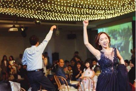 莫蘭迪星光宴會⎢仙氣婚禮場地內的夢幻美食