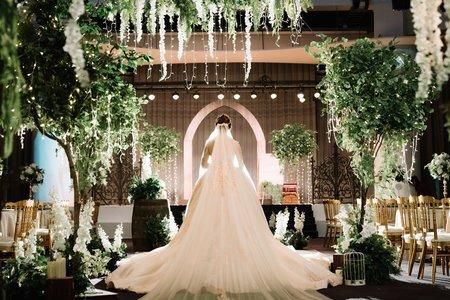圓頂劇場-百萬森林風婚禮