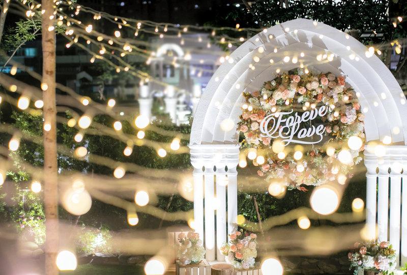 歐式戶外婚禮 25萬夢幻套裝作品
