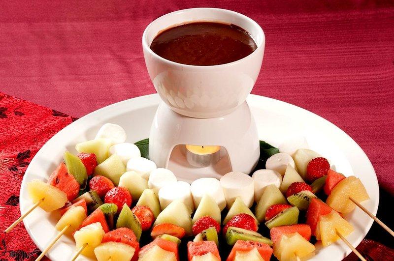 繽紛水果巧克力鍋