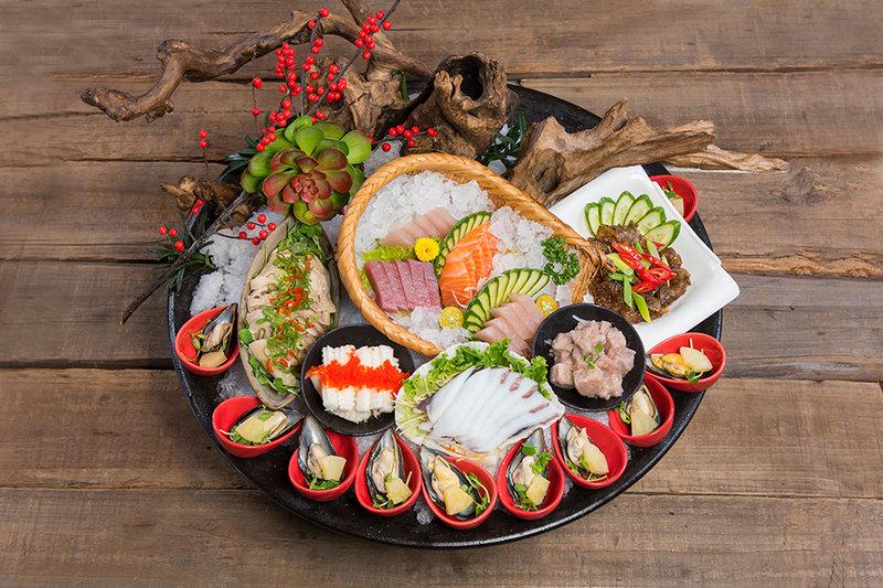 饗悅無菜單料理-海鮮綜合拼盤