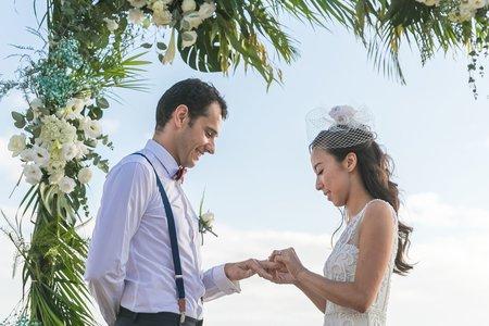 墾丁 跨國婚禮