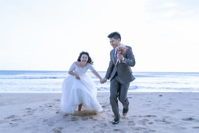 沙灘婚拍  戶外婚拍  墾丁婚拍
