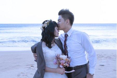 墾丁  夏都  婚紗拍攝  戶外婚拍