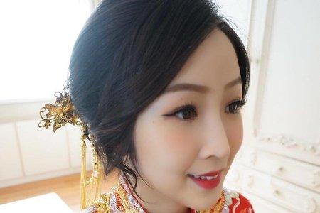 龍鳳掛造型新娘