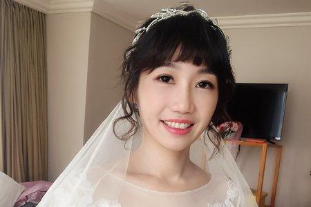 日系風格短髮新娘