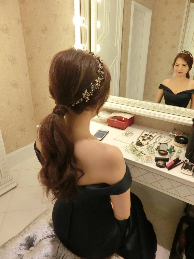 新娘秘書髮妝造型梳化服務作品