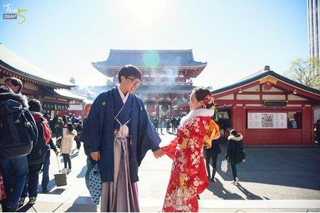 東京 和服外拍Pre-wedding