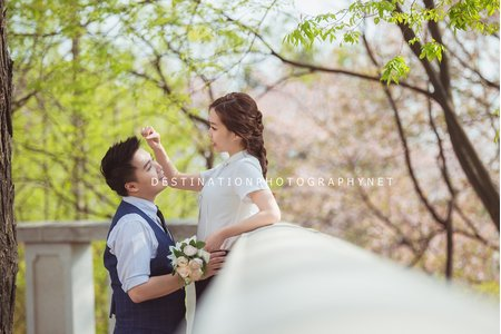 韓國婚紗-首爾 慶熙大學 情侶外拍 (便服)