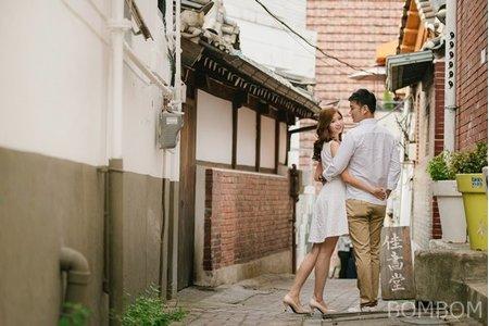 韓國婚紗-首爾 三清洞 輕婚紗/便服