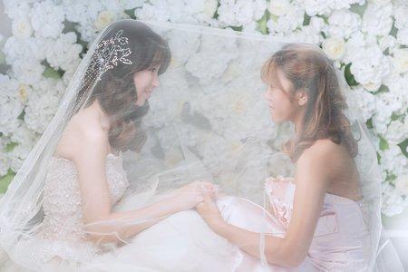 韓國婚紗 - 閨蜜寫真