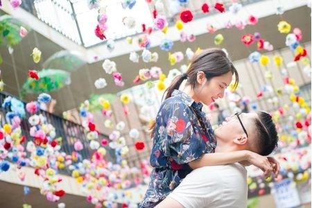 韓國婚紗 - 首爾三清洞情侶街拍